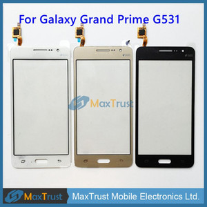 Original IC For Samsung Galaxy Grand Prime G531F G531 G531H Touch Screen Digitizer Front Glass Panel Sensor Black White Gold Color