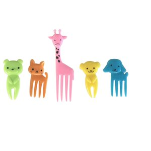 Mini selección de la caja del almuerzo de la selección de la fruta del estilo animal colorido 30pcs con la materia prima segura