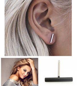 Простой дизайн 1.2 см медь серьги человек женщины панк партии уха аксессуары для мальчиков девочек