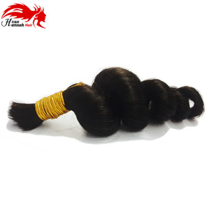 Brazilian Human Braiding Hair Bulk No Weft Loose Curly Remy Braiding Hair Bulk Hair For Braiding