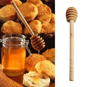 200 pcs / lot New Arrive MINI 15 cm de long en bois Honey Dippers Faveurs de mariage Honey Dipper cuillère Cadeau Livraison gratuite