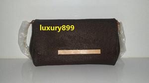 ¡Envío gratis! Calidad de Hight Famoso Bolso de cuero genuino Bolso de las mujeres 40718 bolso favorito mm cuero real 40717