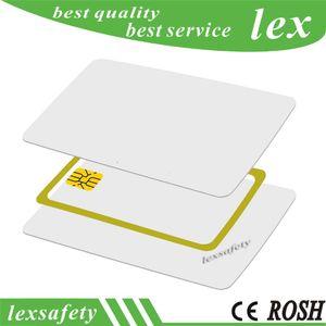 100 pçs / lote 125 KHz TK4100 / EM 4100 compatível com cartão de identificação RF em branco Fina Pvc Rfid cartão branco