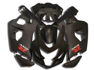2004 için özel Fairing kiti SUZUKI GSXR600 750 GSXR600 GSXR750 K4 04 05 GSXR 600 ABS mat siyah Fairings Set SM07