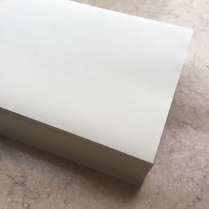 Papier d'affaires 100% coton, papier de liant coton 8,5 x 11 pouces, 32 lb, ivoire, 100 pic 216 * 279 (JD18C0207)