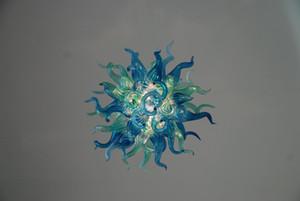 AC 110V-240V 작은 손으로 만들어진 풍선 유리 샹들리에 스타일 침실 장식 롱 체인 LED 사용자 정의 샹들리에