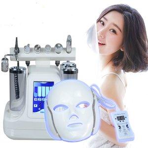 2017 HOT 7 in 1 Touch Screen Oxygen Jet Peel Water Microdermabrasion BIO RF Ultrasonic Skin Care Rejuvenation Spa Salon Device
