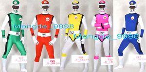 Fantasia Unisex Terno de Super-heróis New 5 Cor Lycra Spandex Super Hero Suit Trajes Catsuit Unisex Superhero Outfit Halloween Cosplay Terno M159