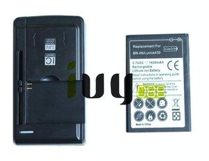 1800mAh BN06 BN06 BN 06 Remplacement de la batterie + chargeur mural USB universel pour Microsoft Nokia Lumia 430 Lumia430
