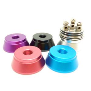 Цветное алюминиевое основание для RDA RBA Display Base Атомайзера Stand 510 нити Clearomizer основания металла держателя с фабрикой Ценой
