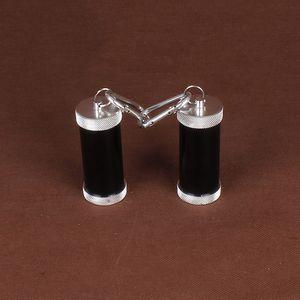 Hot Fashion Mini Portable en alliage d'aluminium Métal Cendrier et porte-clés Décoration en métal Fumer Set Artisanat Accessoires Embellissement