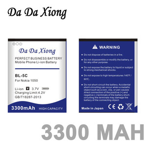 Da Da Xiong 3300mAh BL-5C литий-ионный аккумулятор телефона для Nokia C2-06 C2-00 X2-01 1100 6600 6230 5130 2310 3100 6030 3120 3650 6263