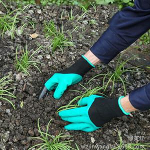 Bahçe Genie Eldiven Parmaklarınızın Pençeleri Yeşil Kazmak ve Bitki Güvenli Budama Eldiven Bahçe Su Geçirmez Kazma Eldiven 0701021
