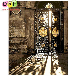 DPF Frameless Painting The sun gate By Numbers Regalo unico Dipinto acrilico Dipinto a mano Immagine Wall Art living decoration