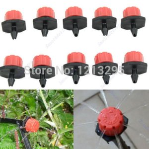 50pcs Garden Irrigation Misting Micro Flow Dripper Drip Head 1 4'' Hose