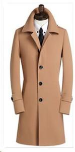 Wholesale- 2016 new arrival Woolen big thermal fashion men obese overcoat wool coat male plus siz S M L XL 2XL 3XL 4XL 5XL 6XL 7XL 8XL 9XL