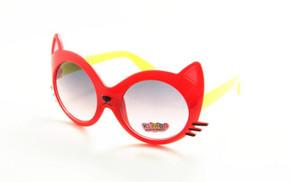 Animal dos desenhos animados New alta Hot Sale 2017 Qualidade crianças Óculos de sol UV do gato do verão sunglasses Formas Vidros Para 24pcs Crianças / Lot Uewgq