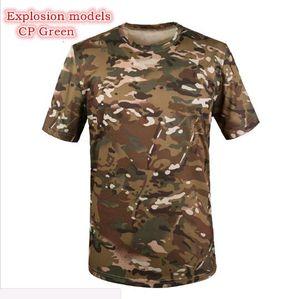 T-shirt uomo Slim Fit Compressium 2016 estate nuova o-collo manica corta maglietta degli uomini di marca di modo maglietta fitness T shirt tattica militare