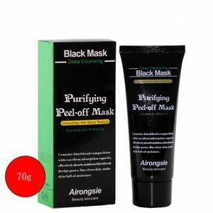 Black Suction Mask Anti-Ageing 70g SHILLS Limpieza profunda Depilación purificante Off Máscara facial negra Remove blackhead Peel Masks