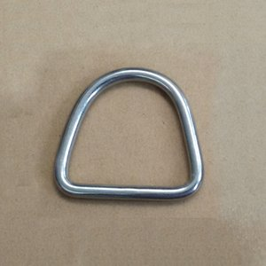32*27mm hook buckle stainless steel D ring hanger buckle Handmade leather Traction ring bag DIY hardware part