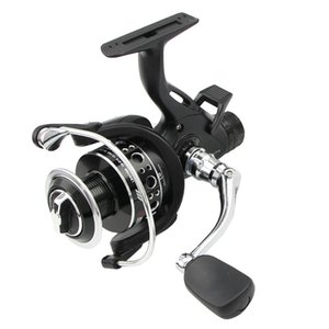 9 + 1BB Smooth Spinning Reel Delanteros Y Traseros Drags Carretes De Pesca De La Carpa 3000-6000 Series Dual Brake Fishing Drive Gear Metal Rocker Handle