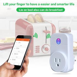1PIECES !! Smart Wifi Power Plug Adapter Mini Smart Socket Remote Control inteligente EU UK US Plug Dispositivo inteligente con CE FCC RoHS