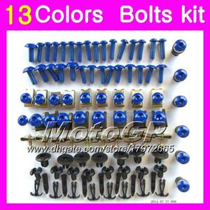 Montageschrauben Vollverschraubung für Aprilia RSV1000R 03 04 05 06 RSV1000 R RSV 1000 2003 2004 2005 2006 Gehäuse Muttern Schrauben Schraubensatz 13Colors