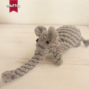 Großhandel niedlichen Elefanten Hund Spielzeug Baumwolle Seil Spielzeug Hund Haustier Spielzeug DRT-002