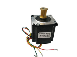 Step motor 573S09-LS for laser engraving machine X axis transmission   3 phase leashine brand for 3D pprinter machine