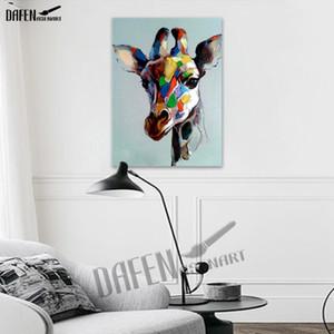 Cool Moto Frères Moderne Peinture Sur Toile 100% Peint À La Main Peinture À L'huile Chien Paqinting Dessin Animé Animal Mur Art Décor À La Maison