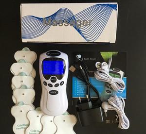 UNITÉ TENS / EMS Sortie double canal soulagement de la douleur / Stimulateur musculaire nerveux / Masseur de thérapie numérique / soins de santé