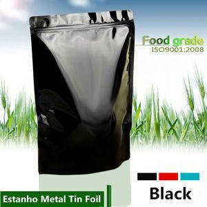 18x30 cm Grande Capacidade Mylar Folha De Alumínio Zip Bloqueio Embalagem Sacos de Cheiro À Prova de Combustível Saver Laminação De Calor Stand Reutilizável pacote de Cor