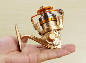Nuevo Hot Mini 12 + 1BB Gapless Fishing Reel Letf Right Raft Rock Ruedas de mano delante Drag Spinning Reel Fish Lure Gear Tackle