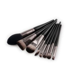 Conjunto de pincel de maquiagem Premium 8 pcs Cabelo Sintético Macio Profissional Maquiagem Pincel de Maquiagem Ferramenta Escova de Maquiagem Escovas Kit Ferramentas