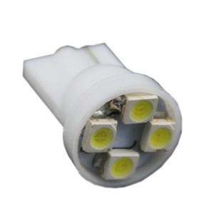 Оптовая!! 2000x T10 194 168 1210 4 SMD 4 LED мощные светодиодные лампы белого света для чтения 12V лампочки