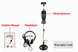 MD-3500 METAL DETECTOR Power Deep Target Searching Sensitive Metal Detecting Tool With LCD System Readout New
