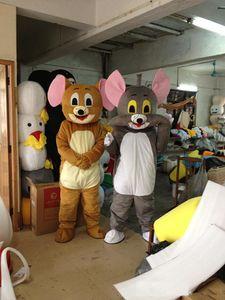2018 Poupée Tom et Jerry de haute qualité en costume de mascotte. Livraison gratuite.