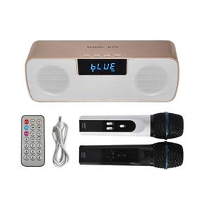 N-200 KTV móvil con juego de amplificadores Sistema de karaoke Micrófono de mano con altavoz Bluetooth Soporte para tarjeta TF / Unidad USB