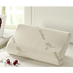 Fibra di bambù Cuscino all'ingrosso di alta qualità lento ritorno Memory Foam Pillow Sanità Memory Foam Pillow Massaggiatore Travesseiro Almohada