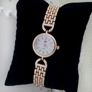 Fashion Lady Watch 6 Colors NEW Design Alloy Watch Elegant Dress Women Fashion Wristwatch Bangle Wholesale