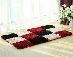 10pcs Area Rugs Discount Carpet Tiles Flooring Covering Pad Matting Decorativi Zerbini di peluche con motivo a cellule