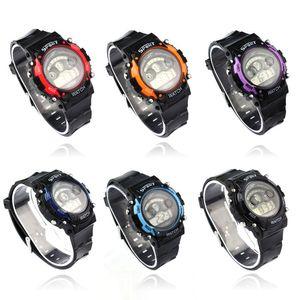 Водонепроницаемый Электронные часы Лучший NT-56F продажи Мальчик LED Дети Мода Отлично Спортивные часы наручные Спорт Свет девушки подарков Jlnqu