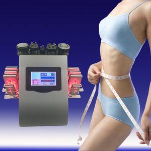 Liposuccion ultrasonique 40k 8 protections Cavitation de lipo de laser de LLLT amincissant l'équipement de station thermale de salon de soins de la peau du vide rf de machine