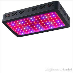 1200W 검정 두 배 칩 LED는 가벼운 가득 차있는 스펙트럼 410-730nm를지도했습니다 수경 체계 실내 식물 및 꽃 어구를위한 빛을 성장합니다