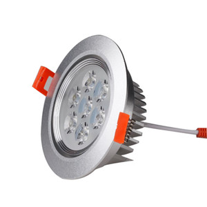 led spot downlight led ceiling downlight AC85-265V 80lm w 3W 5W 7W 9W 12W 15W led downlight engineering
