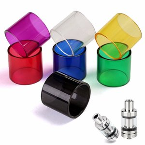 1 X 2ml Pyrex Glass Tube Eletronico Atomizer for Melo 3 Cartomizer Clearomizer Cigarette Vaporizer Stained Glass Tubing Gifts
