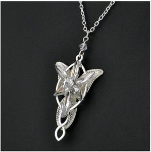 Prezzo di fabbrica Elfstone Crystal Fairy Princess Signore degli anelli Men Women Evenstar Collana pendente Europa e gioielli film americani