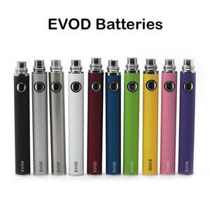 EVOD Batterie EVOD VV Batterie Ego Threading 650mAh 900mAh 1100mAh E Zigarettenbatterie Classic Vape Pen Vaporizer