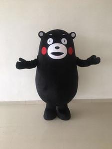 Высокое качество продажа Кумамон костюм талисмана взрослый размер Хэллоуин Рождество День Рождения выступления медведь костюм талисмана