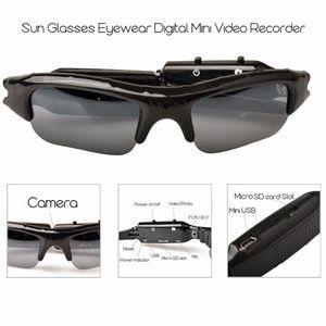 Mini Sport Camera Audio Video Recorder Eyewear Portable Mini DVR Camera con gafas Video / Sunglasses Camera